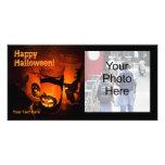 Tarjeta de la foto de Halloween Tarjetas Fotograficas Personalizadas