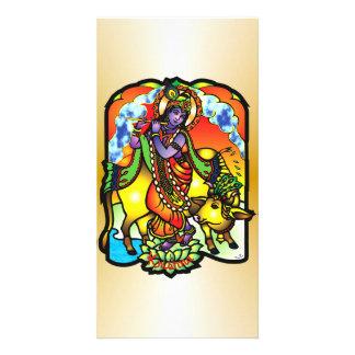 Tarjeta de la foto de Krishna Tarjetas Fotograficas
