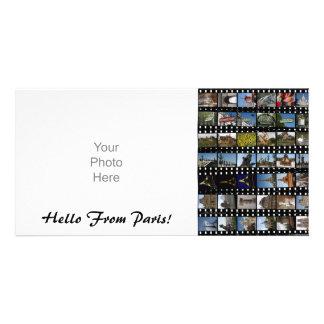 Tarjeta de la foto de la colección de París Tarjetas Con Fotos Personalizadas