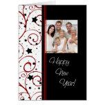 Tarjeta de la foto de la Feliz Año Nuevo de las es