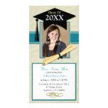 Tarjeta de la foto de la invitación de la graduaci tarjetas con fotos personalizadas