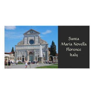 Tarjeta de la foto de la novela corta de Santa Mar Tarjetas Con Fotos Personalizadas