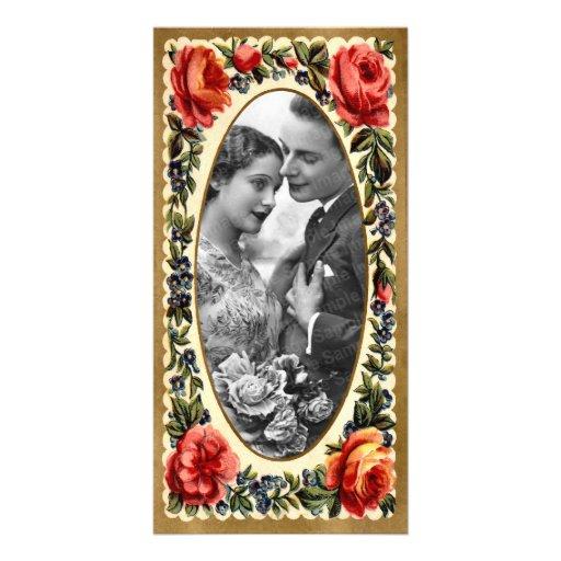 Tarjeta de la foto de la tarjeta del día de San Tarjeta Personal