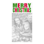 Tarjeta de la foto de las Felices Navidad Tarjetas Con Fotos Personalizadas