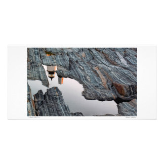 Tarjeta de la foto de las reflexiones de Pemaquid Tarjetas Fotograficas Personalizadas