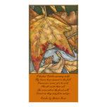 Tarjeta de la foto de octubre tarjetas personales