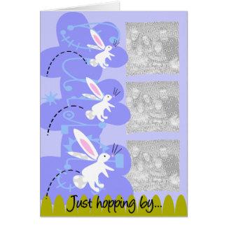 Tarjeta de la foto de Pascua
