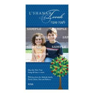 Tarjeta de la foto de Rosh Hashanah del manzano Tarjetas Con Fotos Personalizadas
