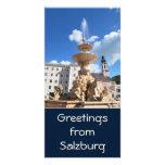 Tarjeta de la foto de Salzburg, Austria Tarjetas Fotograficas