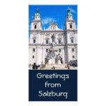 Tarjeta de la foto de Salzburg, Austria Tarjeta Personal Con Foto