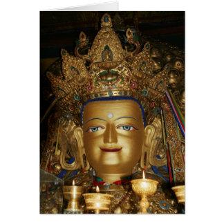 Tarjeta de la foto de Tíbet: Buda Shakyamuni, Lasa