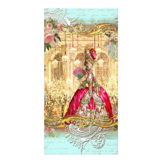 Tarjeta de la foto de Versalles del fiesta de Mari Tarjetas Fotográficas Personalizadas