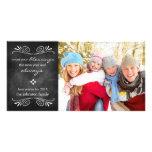Tarjeta de la foto del Año Nuevo de las bendicione Tarjetas Fotográficas Personalizadas