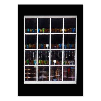 Tarjeta de la foto del ATC de la ventana de la tie Plantillas De Tarjeta De Negocio