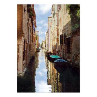 Tarjeta de la foto del ATC de Venecia Italia Tarjetas De Visita