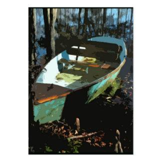 Tarjeta de la foto del ATC del bote de remos del l Tarjeta De Visita