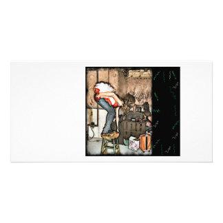 Tarjeta de la foto del boleto del ballet tarjetas con fotos personalizadas