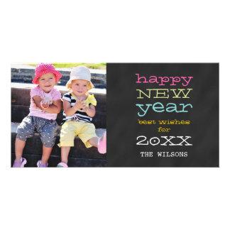 Tarjeta de la foto del día de fiesta de la Feliz Tarjetas Fotográficas Personalizadas
