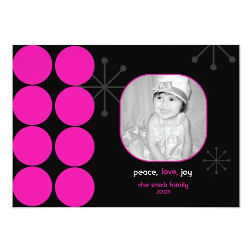 Tarjeta de la foto del día de fiesta de las rosas invitación 12,7 x 17,8 cm
