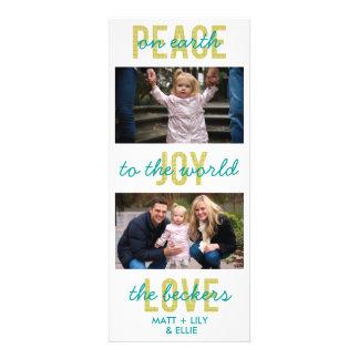 """Tarjeta de la foto del día de fiesta de """"PeaceJoyL Comunicado Personalizado"""