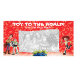 Tarjeta de la foto del día de fiesta de Toy Story Tarjeta Fotográfica Personalizada