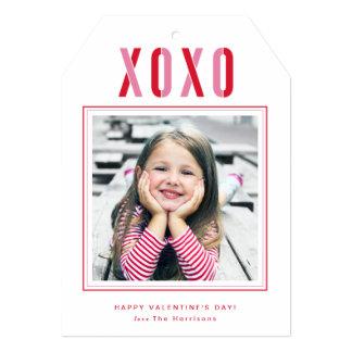 """Tarjeta de la foto del el día de San Valentín de Invitación 5"""" X 7"""""""