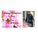 Tarjeta de la foto del el día de San Valentín Tarjetas Fotograficas