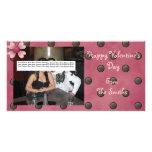 Tarjeta de la foto del el día de San Valentín Tarjetas Fotograficas Personalizadas