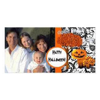 Tarjeta de la foto del feliz Halloween Tarjetas Con Fotos Personalizadas