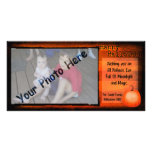 Tarjeta de la foto del feliz Halloween Tarjeta Fotográfica Personalizada