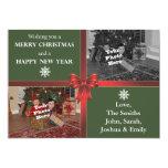 tarjeta de la foto del navidad 5x7 invitación 12,7 x 17,8 cm