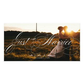 Tarjeta de la foto del navidad de la invitación tarjetas fotográficas personalizadas
