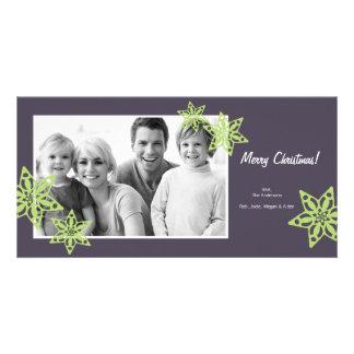 Tarjeta de la foto del navidad - tarjeta 4x8 de la tarjetas fotograficas