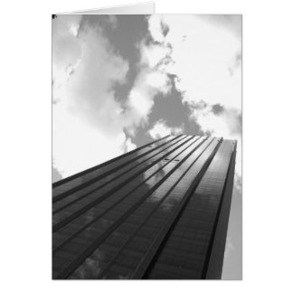 Tarjeta de la foto del rascacielos de NYC