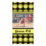 Tarjeta de la foto del softball de Fastpitch Tarjetas Con Fotos Personalizadas