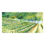 Tarjeta de la foto del viñedo de California Tarjetas Personales