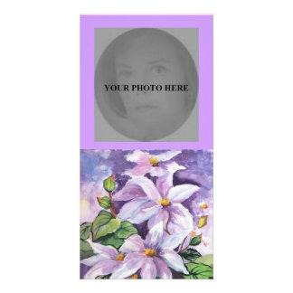 Tarjeta de la foto tarjeta fotografica personalizada
