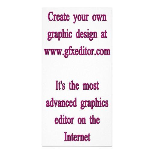 Tarjeta de la foto, vertical tarjetas fotograficas personalizadas