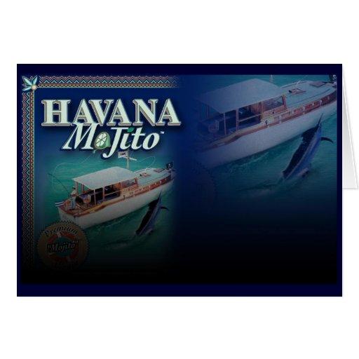 Tarjeta de La Habana Mojito