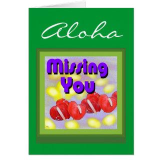 Tarjeta de la hawaiana (que le falta)