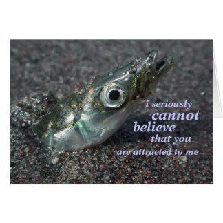 tarjeta de la incredulidad