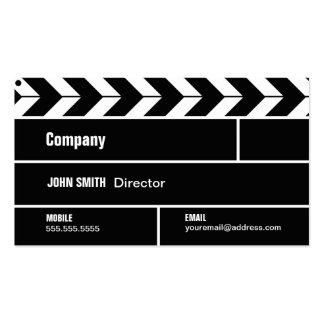 Tarjeta de la industria cinematográfica de directo tarjetas de visita