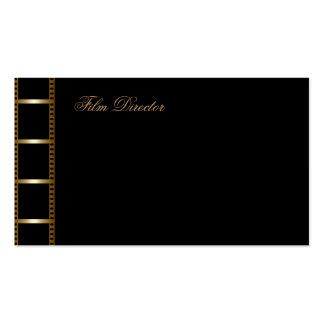 Tarjeta de la industria cinematográfica tarjetas de visita