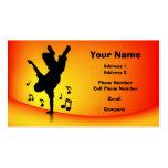 Tarjeta de la industria musical - Breakdance Tarjetas De Visita