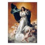 Tarjeta de la Inmaculada Concepción