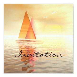 Tarjeta de la invitación de la celebración de la invitación 13,3 cm x 13,3cm