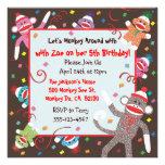 Tarjeta de la invitación de la fiesta de cumpleaño