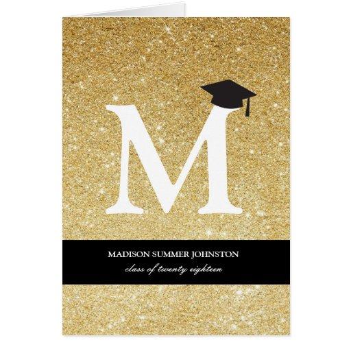 Tarjeta de la invitación de la graduación del
