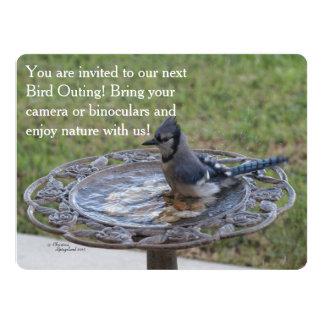 Tarjeta de la invitación de la naturaleza de la