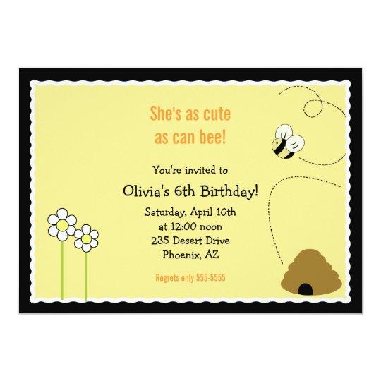 tarjeta de la invitación del feliz cumpleaños de
